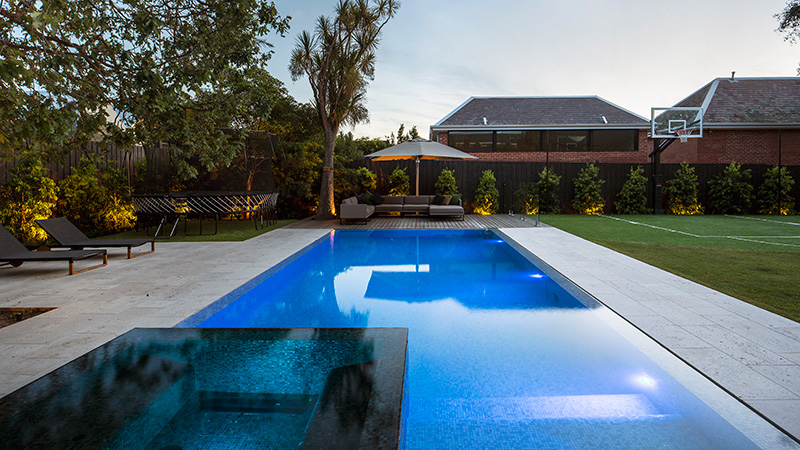 Awards of excellence 2018 spasa victoria swimming pool for Pool designs victoria