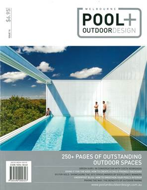Spasa delighted to announce melbourne pool outdoor for Pool design magazine