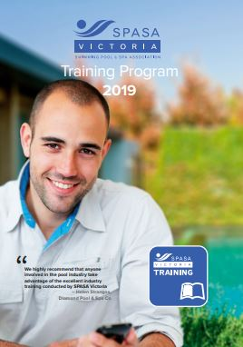 2019 Training Program front cover thumbnail