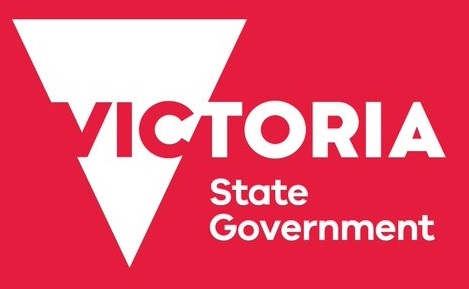 Victoria State Government logo red