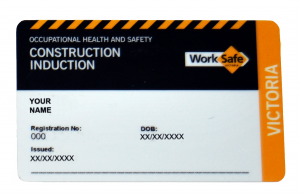 White Card Training Construction Induction Spasa